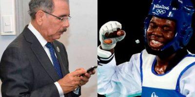 Danilo Medina felicita a Luis Pie por Twitter