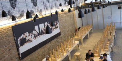 """Este es el """"Refettorio Gastromotiva"""", su comedor en Rio de Janeiro Foto:AP"""