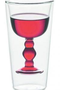 Rio. Set de copas en cristal transparente con relieve interior para vino y agua. Foto:Fuente externa