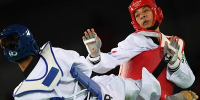 Katherine Rodríguez cae en su combate de 67 kilos de taekwando en #Río2016