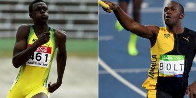 Rio 2016: Así cambió Usain Bolt con el tiempo