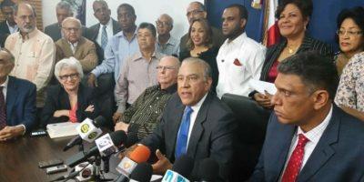 PRM presenta su comisión de ética y control