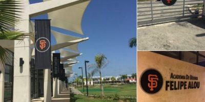 Gigantes de San Francisco inauguraron su nueva academia con el nombre Felipe Alou