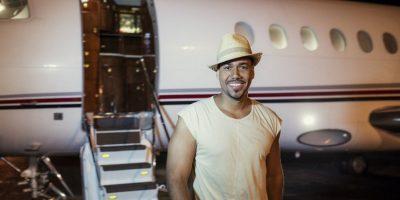 Romeo Santos ya llegó a Punta Cana  para su concierto