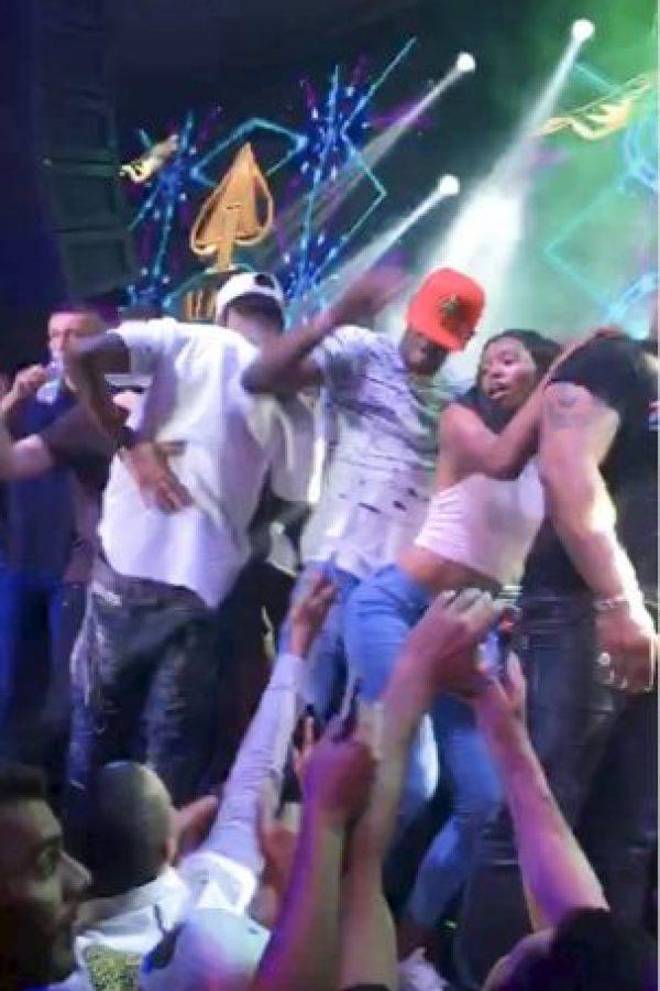 "El atleta olímpico bailó twerking a ritmo de ""Work"" de Rihanna Foto:Grosby Group"