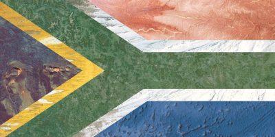 Bandera de Sudáfrica – Fotografía satelital: Hawaii, Australia, Rusia, Japón, Iraq y Oceanía