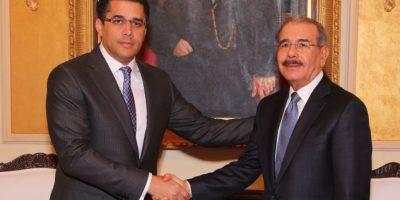Collado acuerda con el presidente Medina para acabar con arrabalización DN