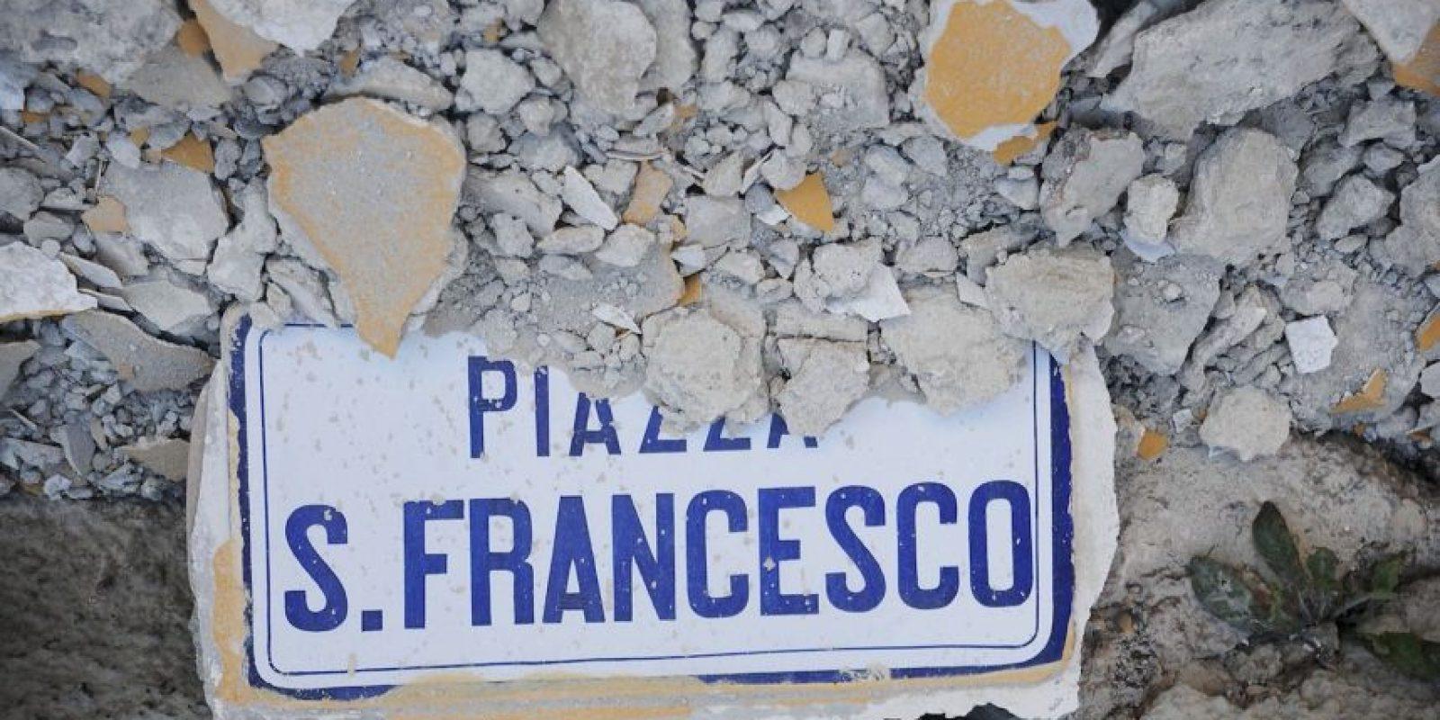 Sucede después del terremoto en Italia Foto:AFP