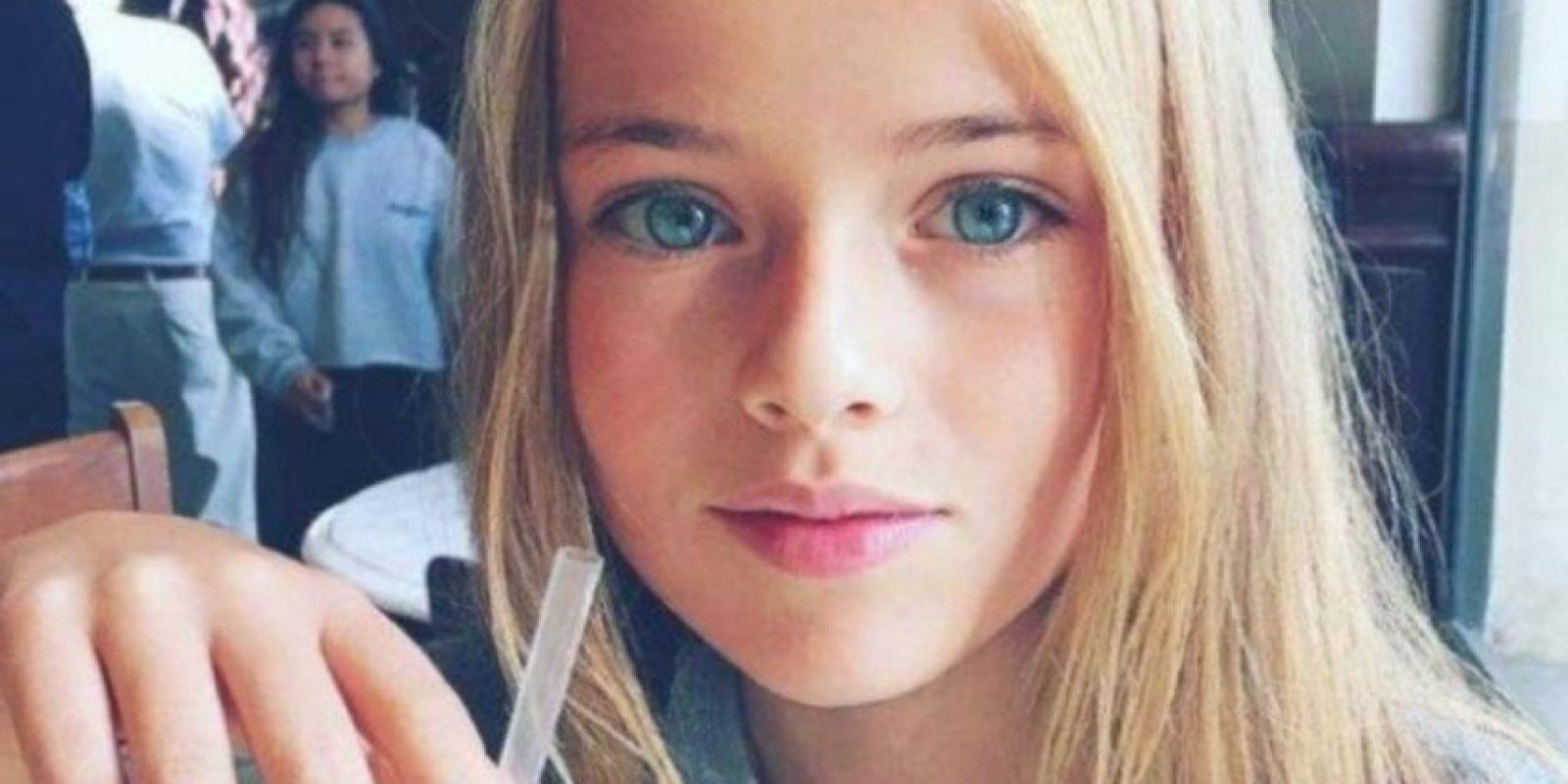 Kristina Pimenova tiene 11 años. Foto:vía Facebook/Kristina Pimenova