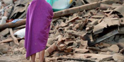 Donde miles de personas lo perdieron todo Foto:AFP