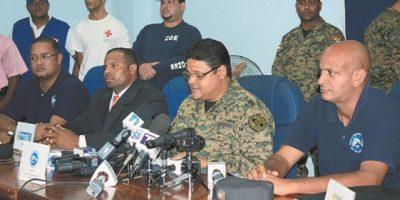 COE pone en alerta al DN y 14 provincias