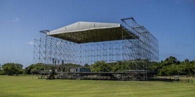 Todo listo para el concierto de Romeo Santos en Punta Cana