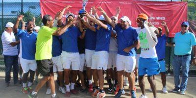 El Club Naco logró la corona de campeón en Team Tenis