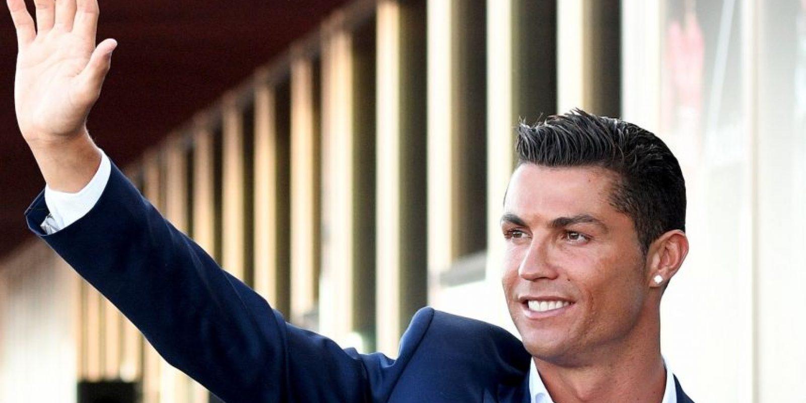 Cristiano Ronaldo fue reconocido como el Mejor Jugador de Europa Foto:Getty Images