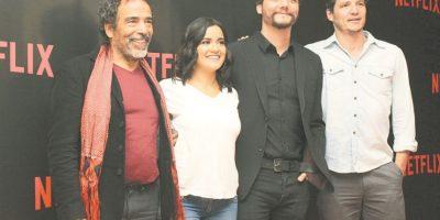 El elenco presentó la nueva temporada en la CDMX. Foto:Nicolás Corte