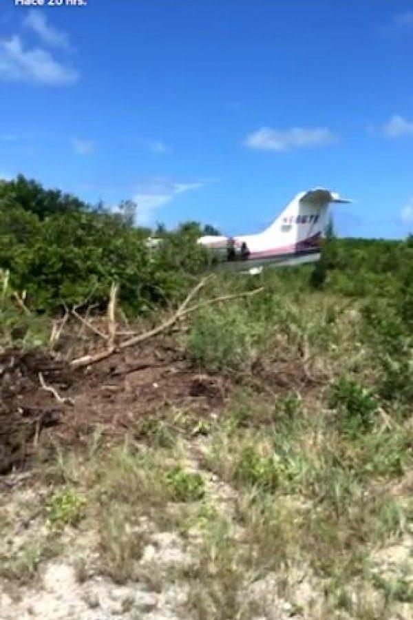 Balvin mostró cómo quedó el avión en el que viajaba Foto:Snapchat: J Balvin