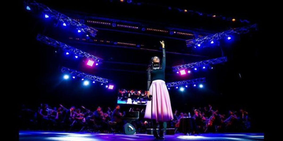 """Lily Goodman elevó una """"Sinfonía al cielo"""""""