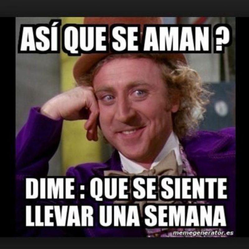 Graciosos memes de Willy Wonka Foto:Twitter