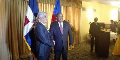 Vargas Maldonado se encuentra en Haití en busca de reactivar la comisión mixta