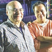 Eduardo Magallanes, su arreglista de cabecera. Foto:Fuente externa