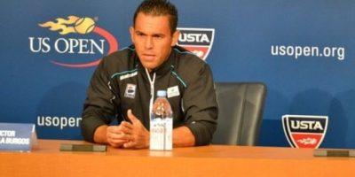 Víctor Estrella jugará contra Souza en el tercer turno de cancha 11