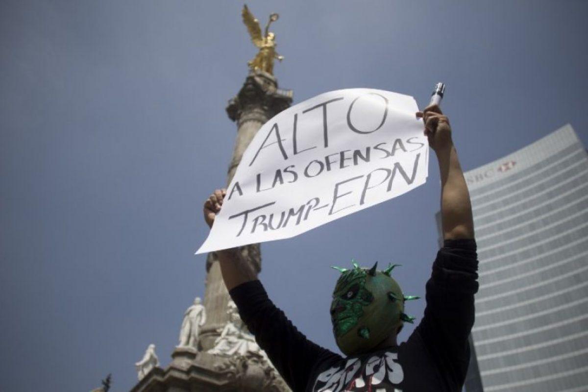 Principalmente por los dichos racistas contra los mexicanos Foto:AFP
