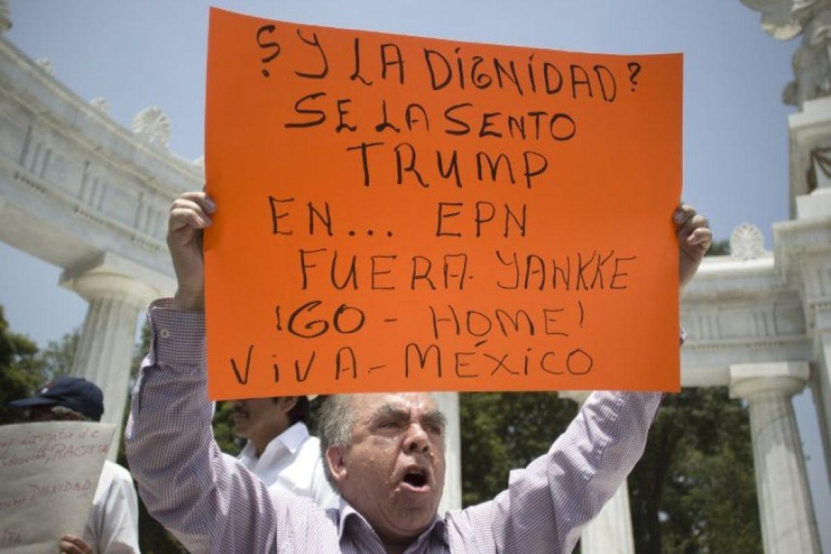 Hubo manifestaciones en la Ciudad de México Foto:AFP