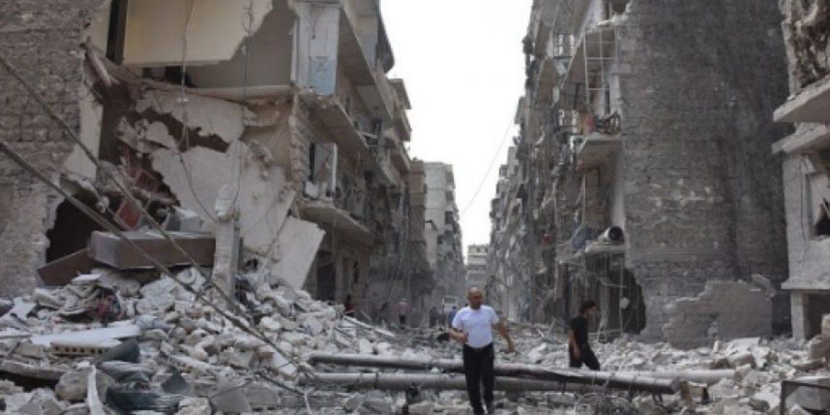 Bombardeos rusos han dejado más de 8,300 muertos en Siria