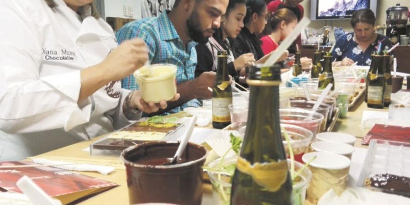 El programa incluye catas y talleres sobre las bondades y usos del cacao. Foto:FUENTE EXTERNA