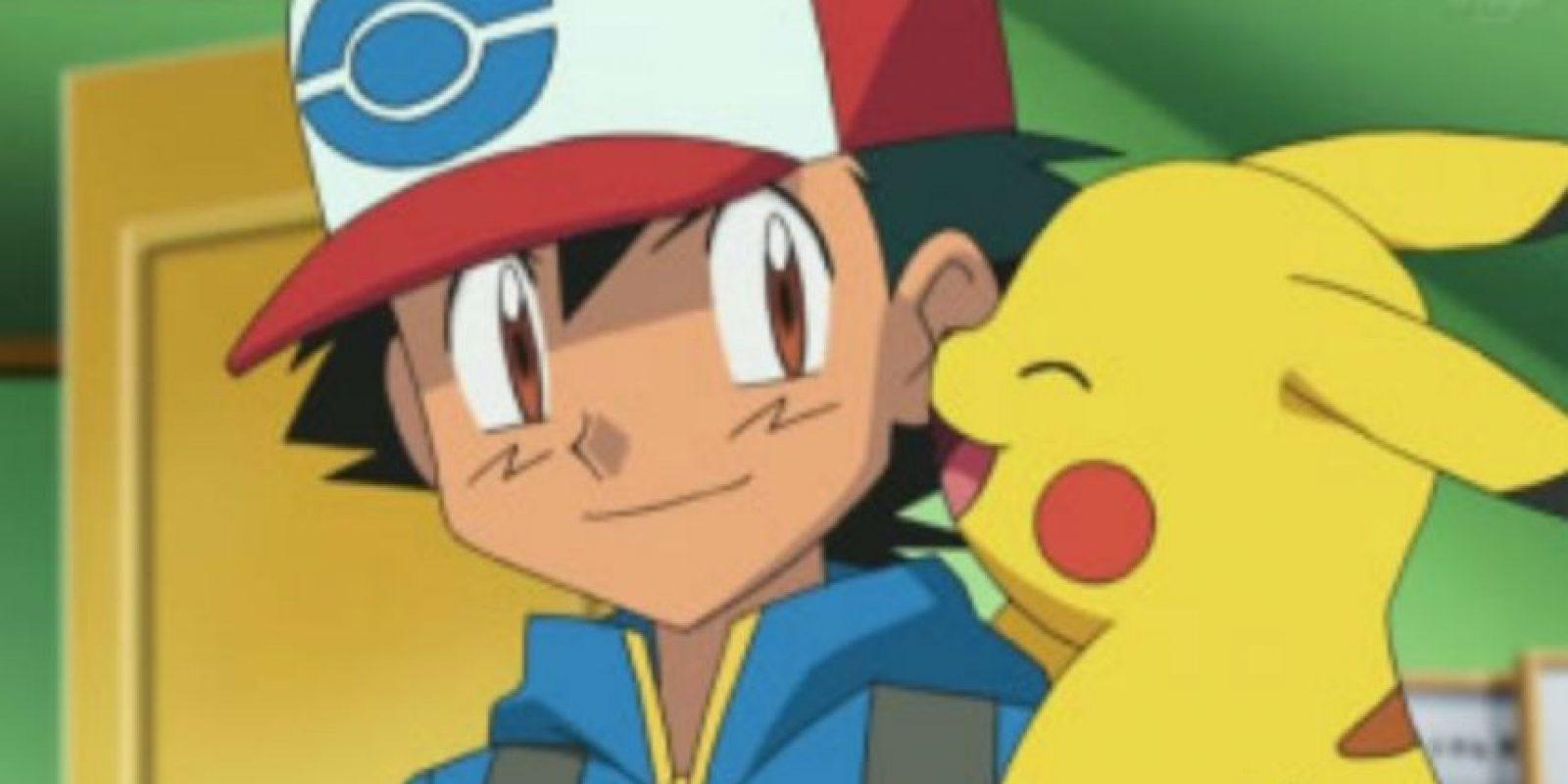 Charmander fue el compañero de Ash y Pikachu. Foto:Pokémon