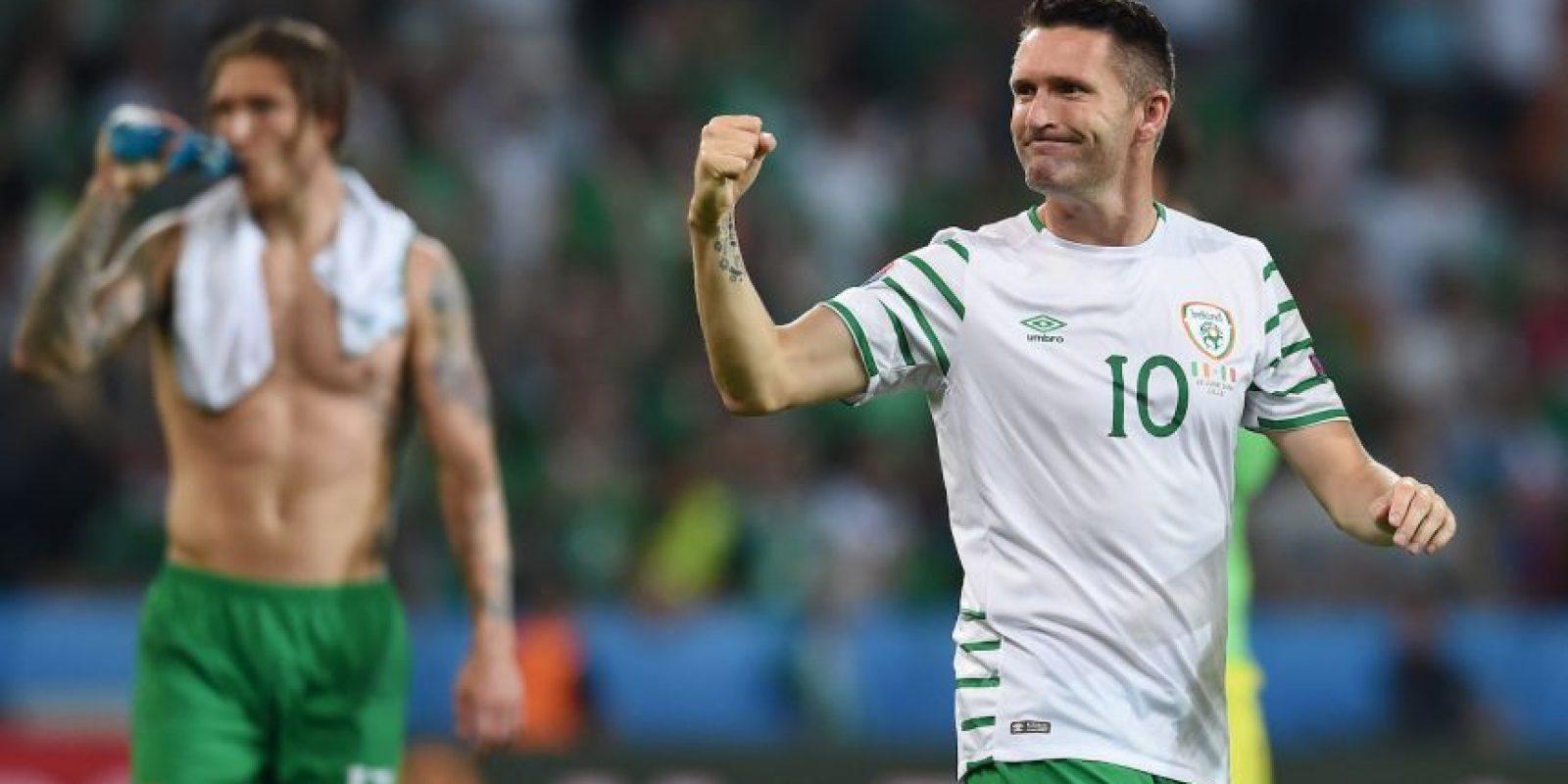 También debemos seguir a Robbie Keane, que se retira de la Selección de Irlanda, después de 145 partidos Foto:Getty Images