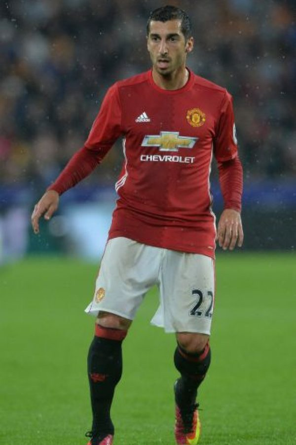 7. Henrij Mkhitaryan. Manchester United pagó 42 millones de euros al Borussia Dormund por el armenio Foto:Getty Images