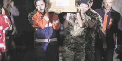 Amatrice despide a sus 231 muertos por el terremoto con un funeral