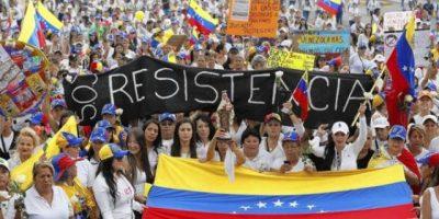 """Gran tensión en Venezuela  por la """"Toma de Caracas"""" hoy"""