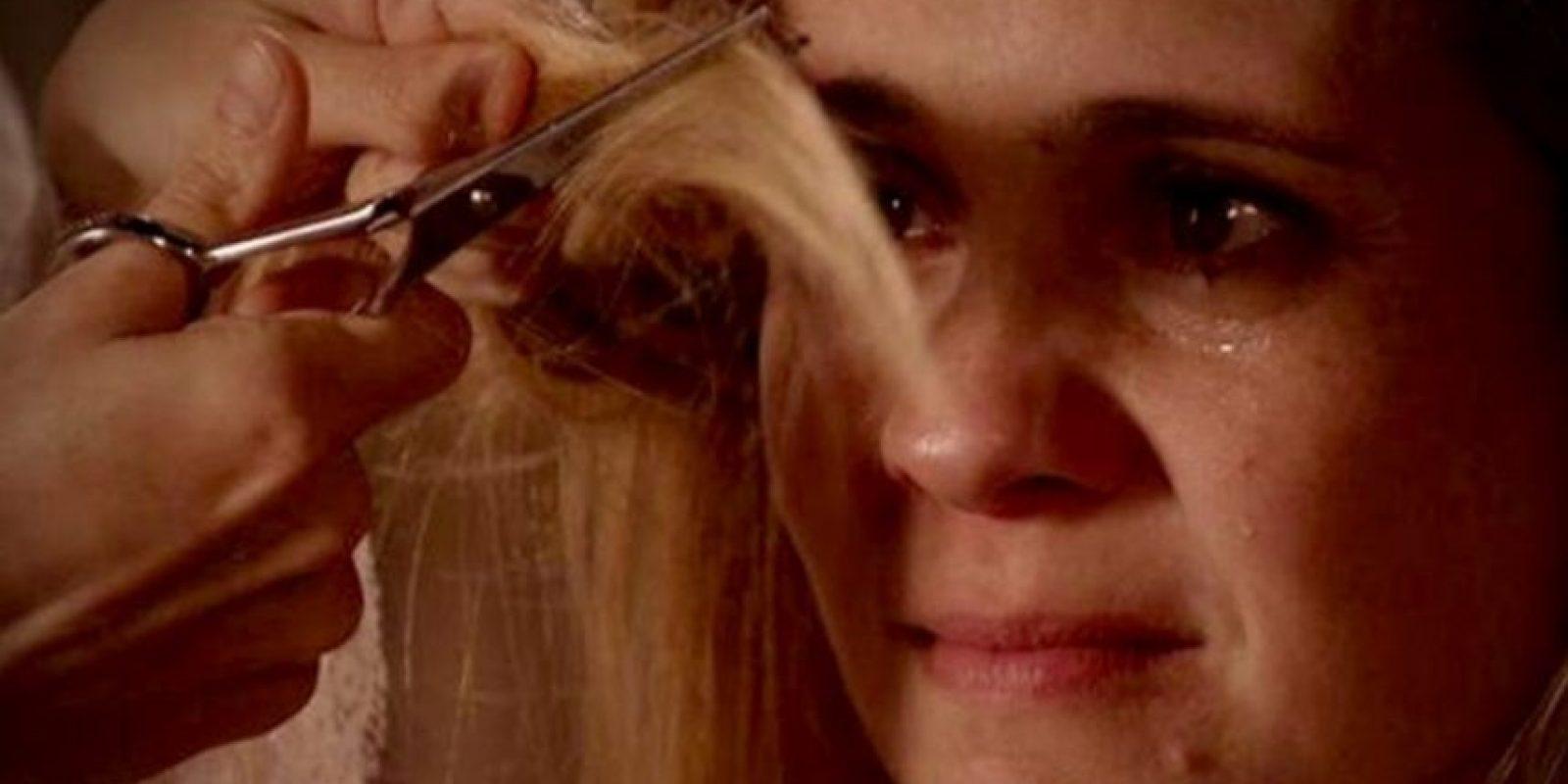 Las escenas que rodó con Adriana Falabella fueron célebres por su crudeza. Foto:Rede Globo