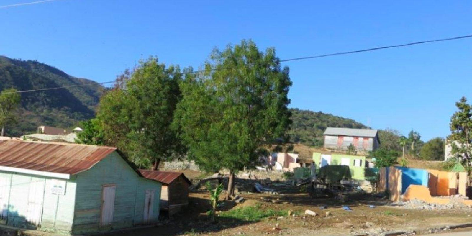 Así estaba el centro de Arroyo Cano antes de Danilo ordenar la construcción de un proyecto habitacional.