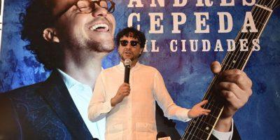 Todo listo para ver a  Andrés Cepeda en  TN