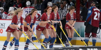 Ice girls, el atractivo visual del hockey sobre hielo