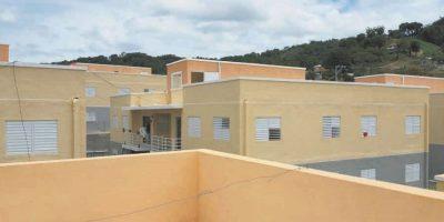 El Gobierno constructó 64 apartamentos para beneficiar igual números de familias. Foto:Ellizabeth Martínez