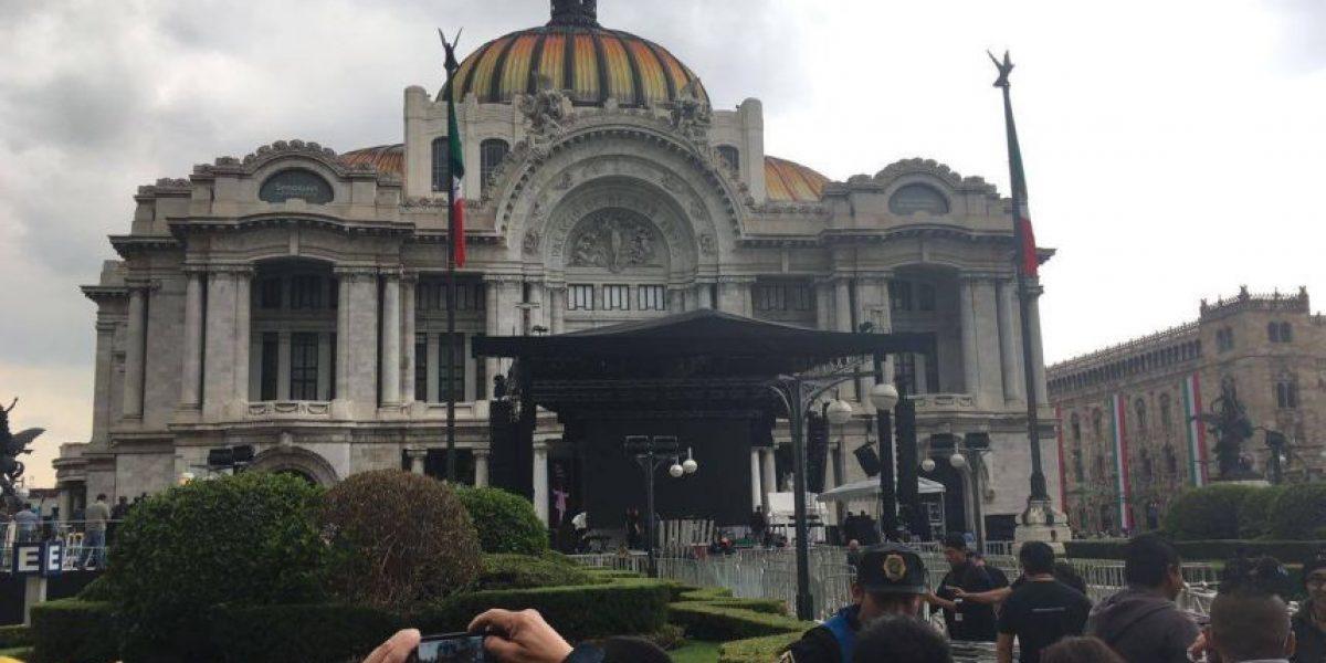 El homenaje de Juan Gabriel en Bellas Artes