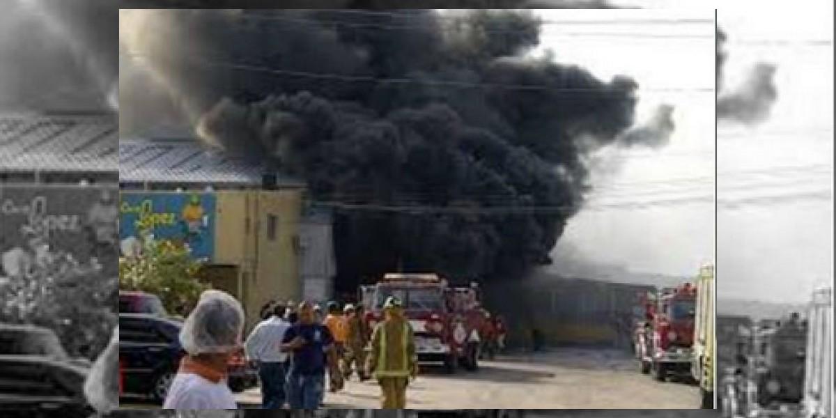 Un fallecido y  varios heridos en explosición de procesadora en San Cristóbal