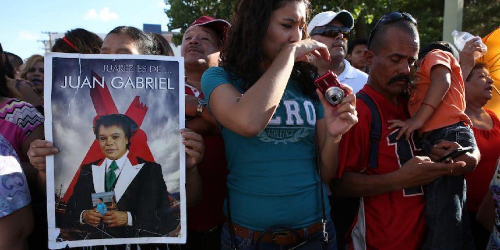 México se prepara para despedir a Juan Gabriel Foto:AP