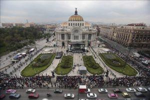 Acudieron miles de personas Foto:AFP