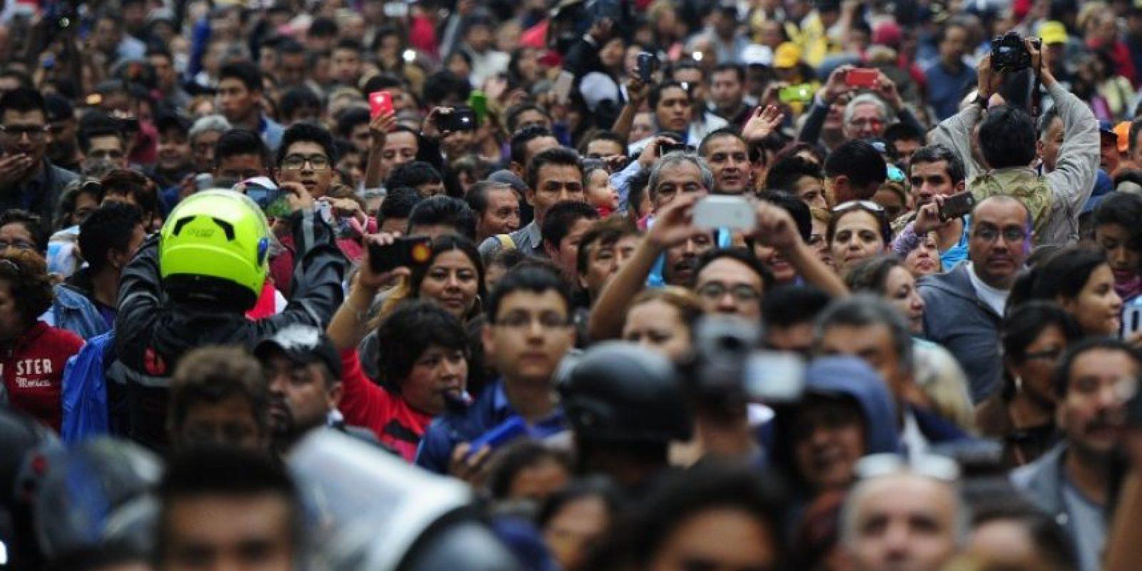"""Todos con un solo objetivo: despedir al """"Divo de Juárez"""" Foto:AFP"""