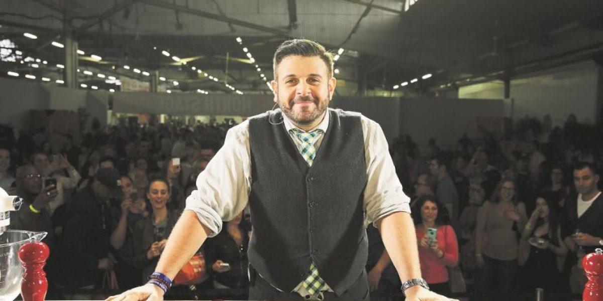 """Adam Richman va por más después de """"Man vs. Food"""""""