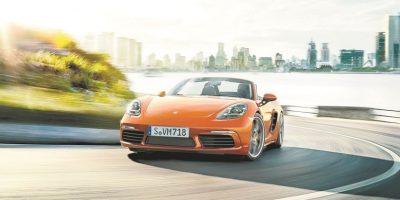 Porsche 718 Boxster: Adrenalina a cielo abierto