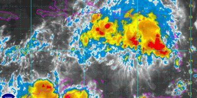 Fuertes aguaceros en varias provincias por onda tropical, según Onamet