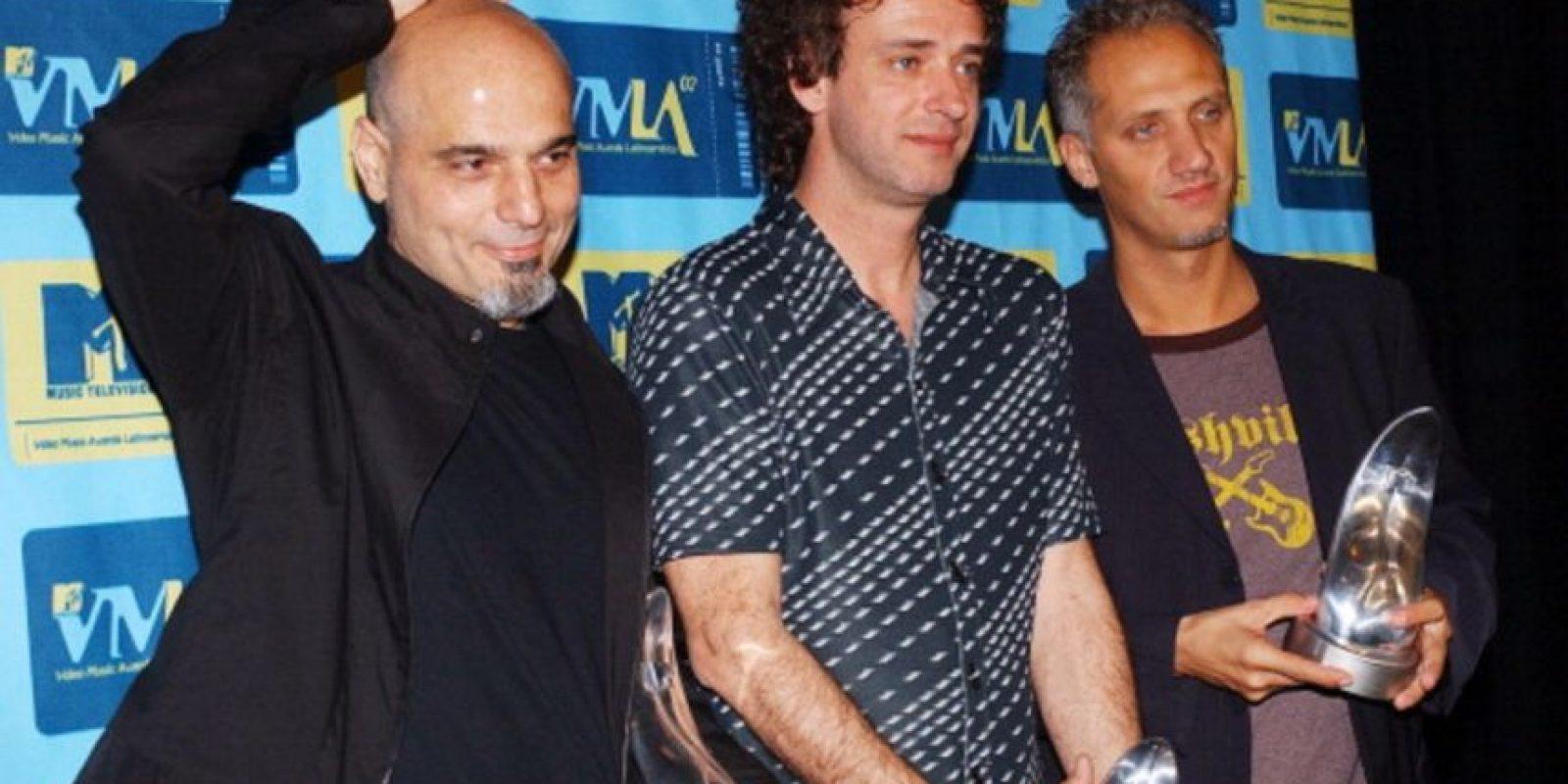 En 2002, antes de su gira de reencuentro. Foto:Getty Images