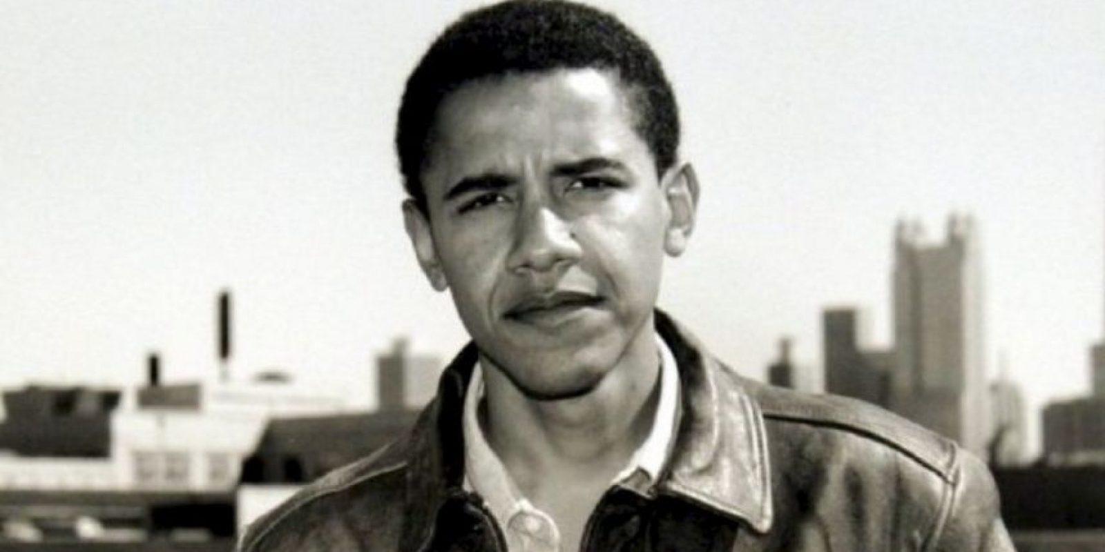 """En 1992 dirigió la organización sin ánimos de lucro """"Prohect Vote"""" Foto:Facebook.com/BarackObama"""