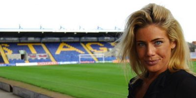 Carolyn Still, directora ejecutiva del Mansfield Town, de la cuarta división inglesa Foto:Instagram